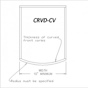 Curved Drawer CRVD-CV