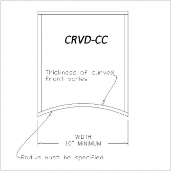 Curved Drawer CRVD-CC