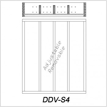 Dividers (Vertical) DDV-S4