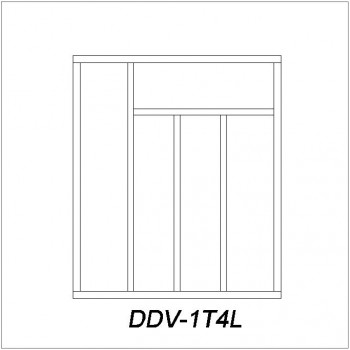 Dividers DDV-1T4L