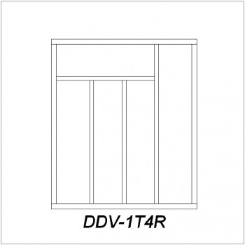 dividers DDV-1T4R