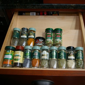 "Spice Drawer Organizer 15''-18"" wide"