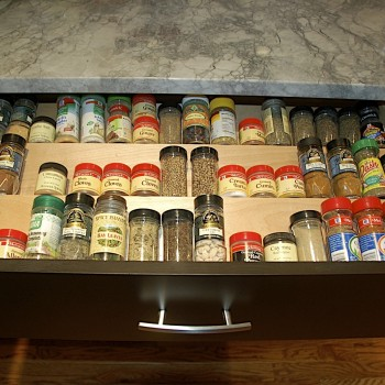"Spice Drawer Organizer 24-27"" wide"
