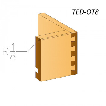 "1/8"" Top Edge  TED-OT8"